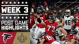 Download Falcons vs. Saints | NFL Week 3 Game Highlights Video