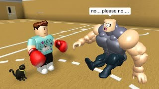 Download BEATING UP MY GYM BULLY IN ROBLOX Video