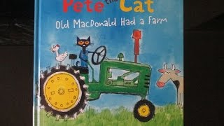 Download Pete The Cat Old MacDonald Had A Farm Children's Book Song Video