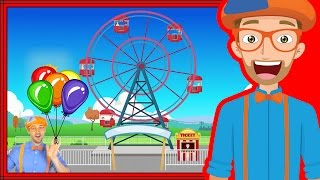 Download Theme Park rides with Blippi | Theme Park Song Video