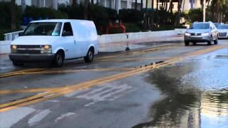 Download Sea Level Flooding Miami Streets Video
