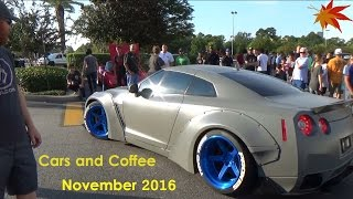 Download Cars leaving Houston Cars and Coffee / November 2016 Video