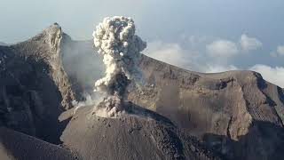 Download Sangeang Api Volcano by Drone Video