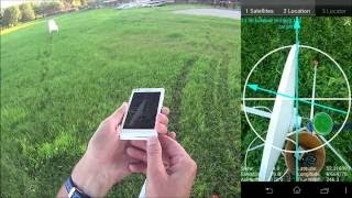 Download Satellite Locator with GPS locations from the phone Video