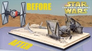 Download Hasbro ″The Force Awakens″ Tie Fight Makeover- Chris' Custom Collectables!! Video