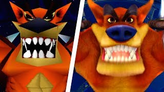 Download Crash Bandicoot N. Sane Trilogy - All Bosses Comparison (PS4 vs Original) Video