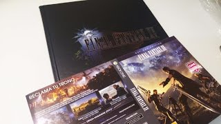 Download Final Fantasy XV Guide Collector Edition Unboxing Video