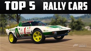 Download TOP 5 BEST RALLY CARS IN FORZA HORIZON 3 - TOP 5 FORZA Video