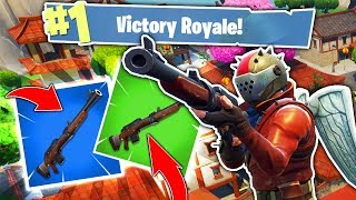 Download *NEW* HUNTING RIFLE GAMEPLAY!! - FORTNITE BATTLE ROYALE!! Video