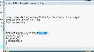 Download How to make a hidden keylogger in c++ (im not a virus maker, so dont ask me to make you one) Video