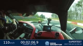 Download Corvette Z06 (C7) 7.13,90 min Nordschleife HOT LAP sport auto Supertest Video