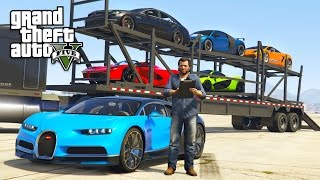 Download GTA 5 Real Life Mod #32 - TRANSPORTING EXOTIC SUPERCARS!! (GTA 5 Mods) Video