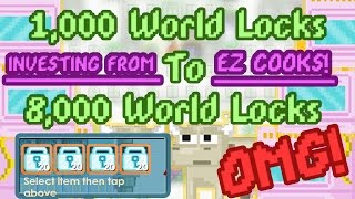 Download Earning 8,000WLs from 1,000 WLs with EZ Cooks! | Growtopia Video