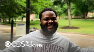 Download Morehouse graduate motivated to ″change the world″ after billionaire pledges to pay students' debts Video
