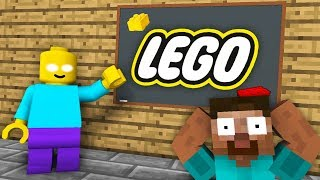 Download Monster School : LEGO CITY GAME CHALLENGE - Minecraft Animation Video