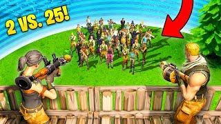 Download INSANE 2 vs. 25 VICTORY! - Fortnite Fails & Epic Wins #16 (Fortnite Funny Moments Compilation) Video