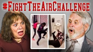 Download ELDERS REACT TO FIGHT THE AIR CHALLENGE COMPILATION Video