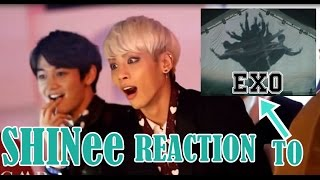 Download SHINee REACTION TO EXO VCR+ WOLF+ GROWL MMA 2013 Video