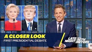 Download A Closer Look: First Presidential Debate Video
