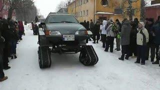 Download KARAKATITSA PARAAD 2012, Kallaste, Estonia (Super hand made CAR SHOW) Video
