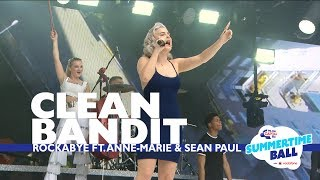 Download Clean Bandit - 'Rockabye' feat. Anne-Marie and Sean Paul (Live At Capital's Summertime Ball) Video