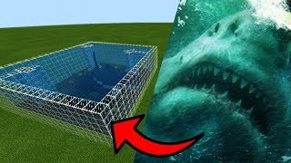 Download How To Make a MEGALODON Farm in Minecraft PE Video