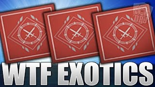 Download Destiny: WTF EXOTICS! Opening 9x Weekly Crucible Lord Shaxx Bounty Packages Video