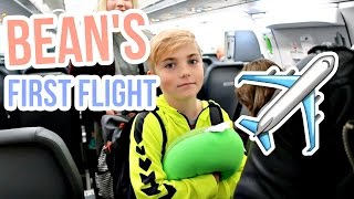 Download BEAN'S FIRST AIRPLANE RIDE! Video