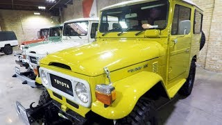 Download Toyota Land Cruiser FULL HISTORY - Private Museum Tour Video