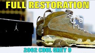 Download OG JORDAN 9 FULL RESTORATION!! (DUMPSTER KICKS) Video