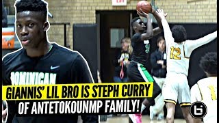 Download Giannis' Lil Bro Alex Is The STEPH CURRY of The Antetokounmpo Family!! SPLASHING 3s & Droppin Dimes! Video
