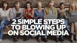 Download Two Simple Steps To Blowing Up On Social Media - The Lead Magnet with Frank Kern Video