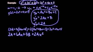 Download Method of Undetermined Coefficients - Non-Homogeneous Differential Equations Video