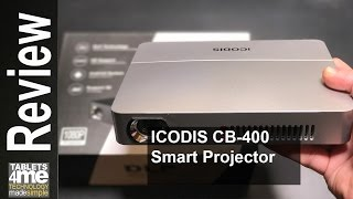 Download 3000 Lumens Portable & Bright Android Smart Projector from ICODIS CB-400 tested with Nintendo Switch Video