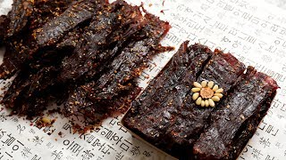 Download Korean Beef Jerky (Yukpo: 육포) Video