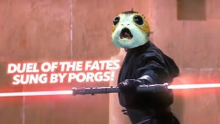 Download Duel Of The PORGS - Made With Porg Sounds! Video