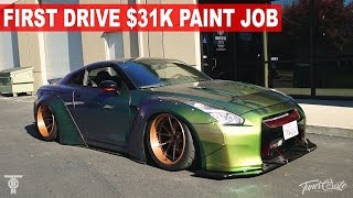 Download FIRST DRIVE: LIBERTY WALK GTR $31K PAINT JOB Video
