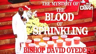 Download 🌻 Bishop David Oyedepo|Cross Over Night|Mystery Of The Blood Of Sprinkling |Jan.1/2018 Video