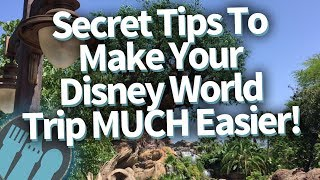 Download Secret Tips To Make Your Disney World Trip MUCH Easier! Video