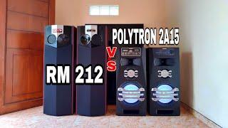 Download COMPARE ROAD MASTER 212 VS POLYTRON PAS 2A15 LEBIH OK YG MANA..!?? Video
