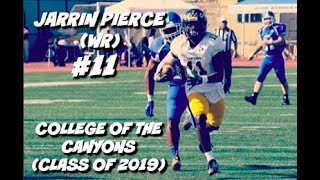 Download Jarrin Pierce Official JUCO Highlights #11 || College of the Canyons (Class of 2019) Video
