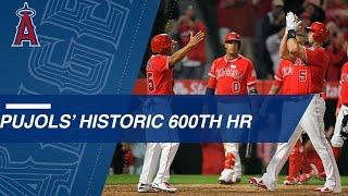 Download Watch Albert Pujols hit a grand slam for his 600th career home run Video