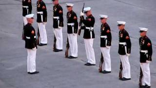 Download Marines' Silent Drill with an Oops! (″Military Ceremony Fail″ ORIGINAL) Video