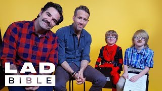 Download Little LADS Interview Deadpool 2's Ryan Reynolds & Rob Delaney, On Taylor Swift, Wolverine And Gin Video