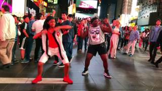 Download When JERSEY invades NYC ″PhakeLuv Time Square Version″ Aniii - YFD Video