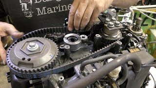 Download Outboard timing belt replacement Video