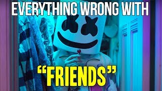 Download Everything Wrong With Marshmello & Ann-Marie - ″FRIENDS″ Video