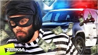 Download I Got CAUGHT ROBBING a HOUSE By The POLICE! (Thief Simulator #2) Video