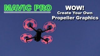 Download The Amazing PROGRAMMABLE LED Low Noise Props - DJI MAVIC PRO Video