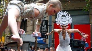 Download Cirque Du Soleil mostró un adelanto de ″Amaluna″ en pleno centro de Santiago Video